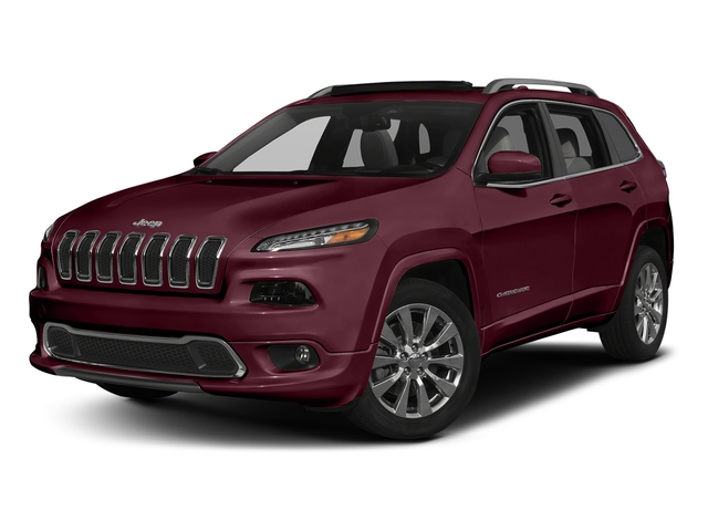 Velvet Red Pearlcoat 2018 Jeep Cherokee Pictures Cherokee Utility 4D Overland 2WD photos front view