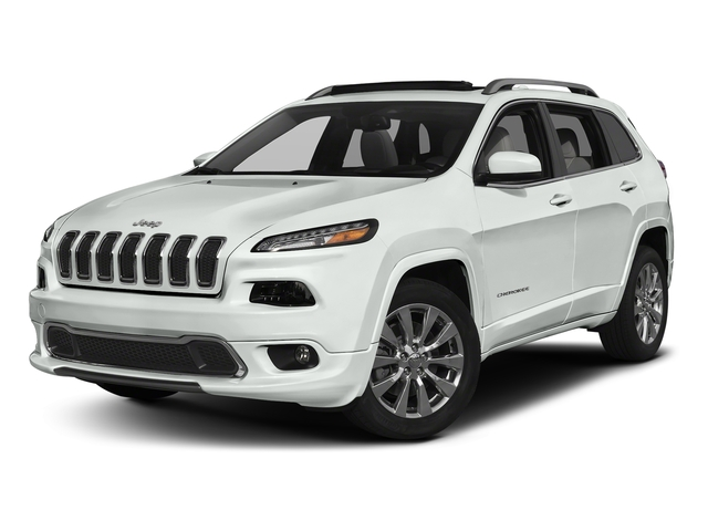 Bright White Clearcoat 2018 Jeep Cherokee Pictures Cherokee Utility 4D Overland 4WD photos front view