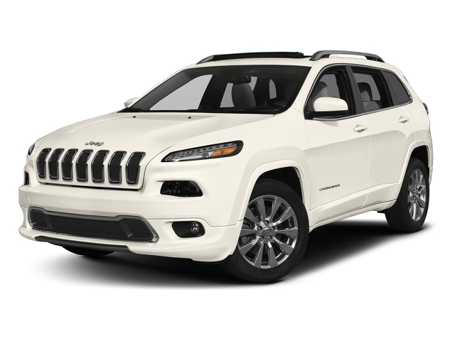 Pearl White Clearcoat 2018 Jeep Cherokee Pictures Cherokee Overland 4x4 photos front view
