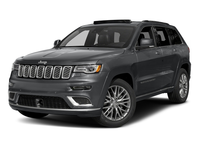Granite Crystal Metallic Clearcoat 2018 Jeep Grand Cherokee Pictures Grand Cherokee Summit 4x2 photos front view