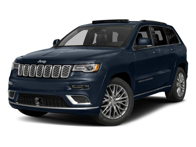 True Blue Pearlcoat 2018 Jeep Grand Cherokee Pictures Grand Cherokee Summit 4x2 photos front view