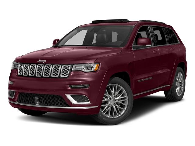 Velvet Red Pearlcoat 2018 Jeep Grand Cherokee Pictures Grand Cherokee Summit 4x2 photos front view