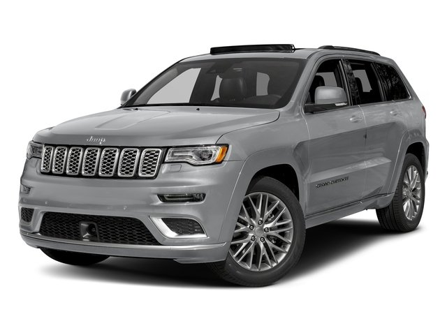 Billet Silver Metallic Clearcoat 2018 Jeep Grand Cherokee Pictures Grand Cherokee Summit 4x2 photos front view