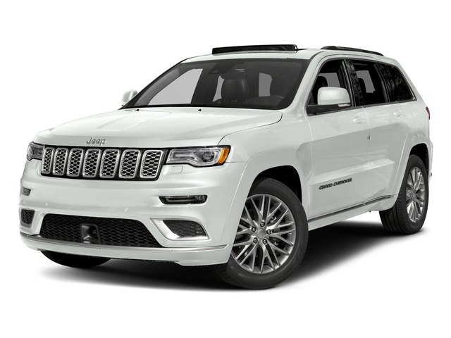 Bright White Clearcoat 2018 Jeep Grand Cherokee Pictures Grand Cherokee Summit 4x2 photos front view