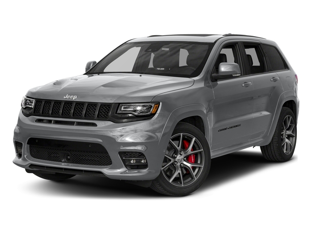 Billet Silver Metallic Clearcoat 2018 Jeep Grand Cherokee Pictures Grand Cherokee Utility 4D SRT-8 4WD photos front view