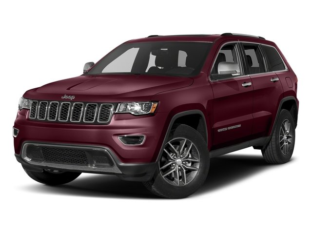 Velvet Red Pearlcoat 2018 Jeep Grand Cherokee Pictures Grand Cherokee Limited 4x4 photos front view
