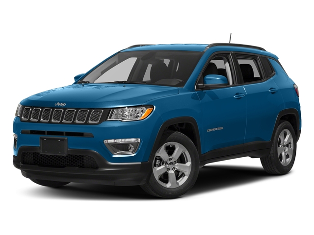 Laser Blue Pearlcoat 2018 Jeep Compass Pictures Compass Sport FWD photos front view