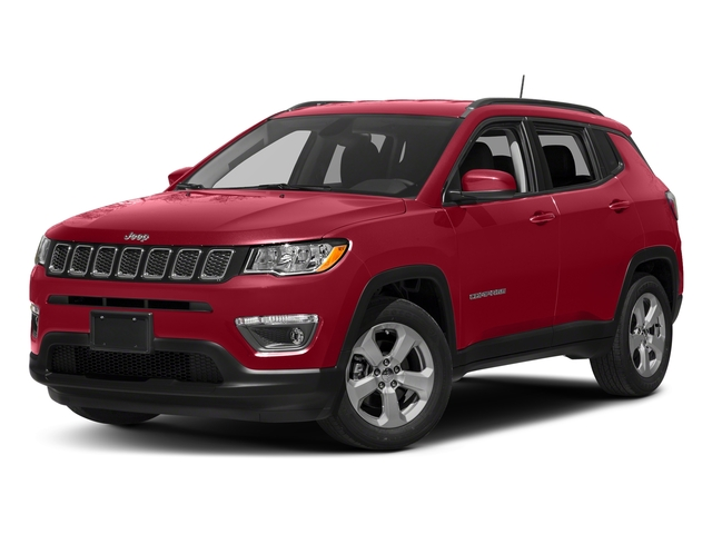 Redline Pearlcoat 2018 Jeep Compass Pictures Compass Limited 4x4 photos front view