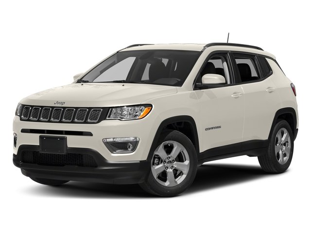 White Clearcoat 2018 Jeep Compass Pictures Compass Sport FWD photos front view