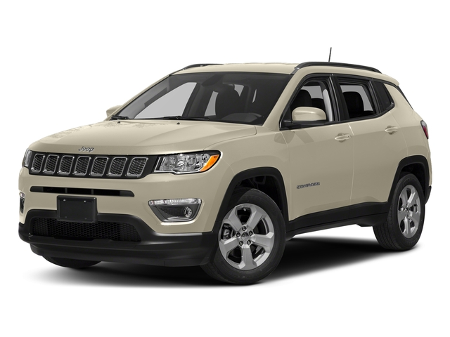 Pearl White Tri-Coat 2018 Jeep Compass Pictures Compass Limited 4x4 photos front view