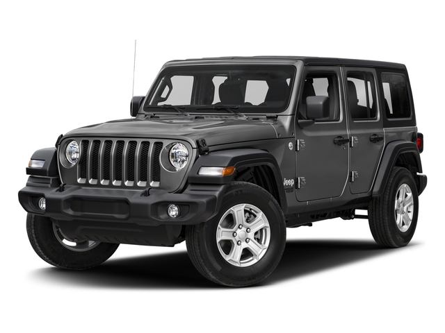 Sting-Gray Clearcoat 2018 Jeep Wrangler Unlimited Pictures Wrangler Unlimited Sport 4x4 photos front view