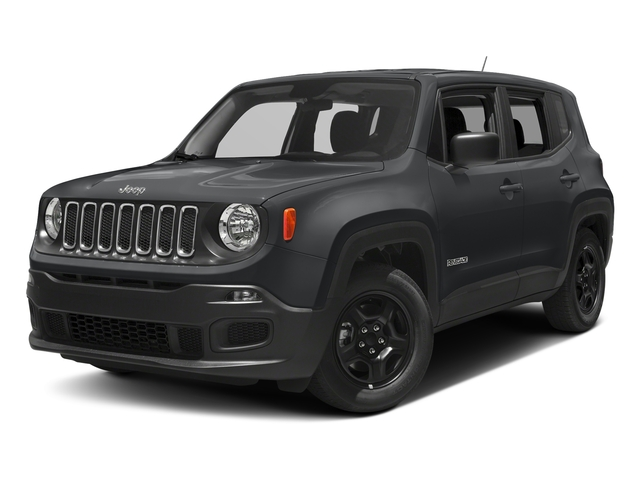 Granite Crystal Metallic Clearcoat 2018 Jeep Renegade Pictures Renegade Upland Edition 4x4 photos front view