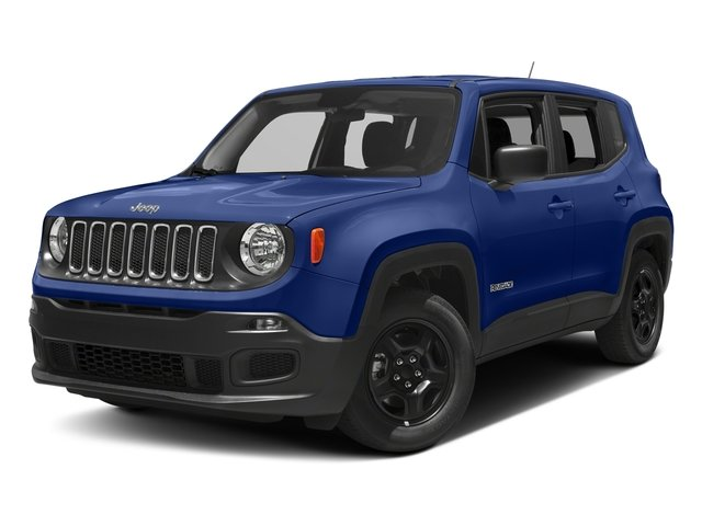 Jetset Blue 2018 Jeep Renegade Pictures Renegade Upland Edition 4x4 photos front view