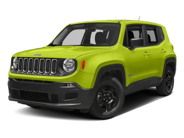 Hypergreen Clearcoat 2018 Jeep Renegade Pictures Renegade Upland Edition 4x4 photos front view