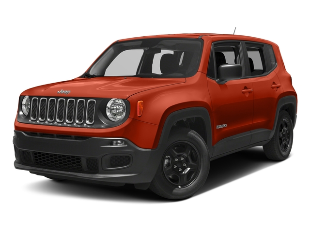 Omaha Orange 2018 Jeep Renegade Pictures Renegade Upland Edition 4x4 photos front view