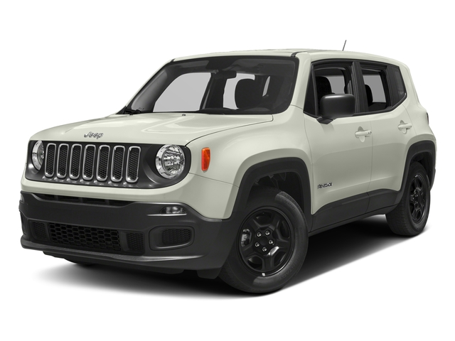 Alpine White 2018 Jeep Renegade Pictures Renegade Upland Edition 4x4 photos front view