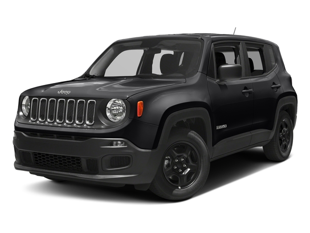 Black 2018 Jeep Renegade Pictures Renegade Upland Edition 4x4 photos front view