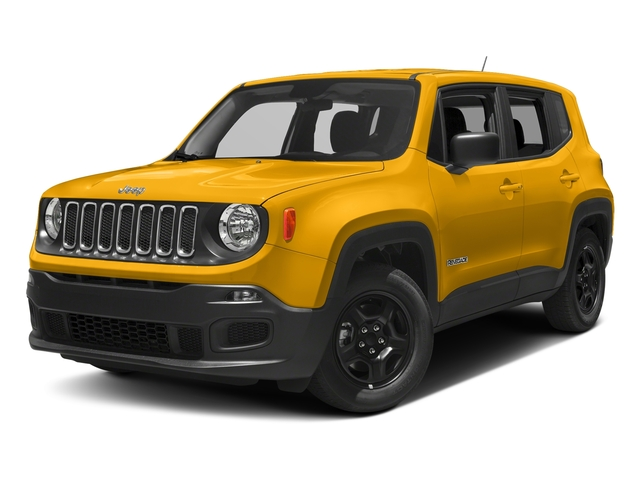Solar Yellow 2018 Jeep Renegade Pictures Renegade Upland Edition 4x4 photos front view