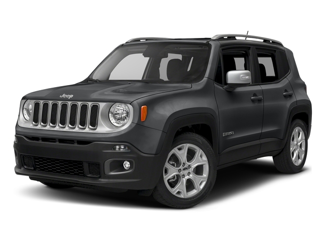 Granite Crystal Metallic Clearcoat 2018 Jeep Renegade Pictures Renegade Limited FWD photos front view