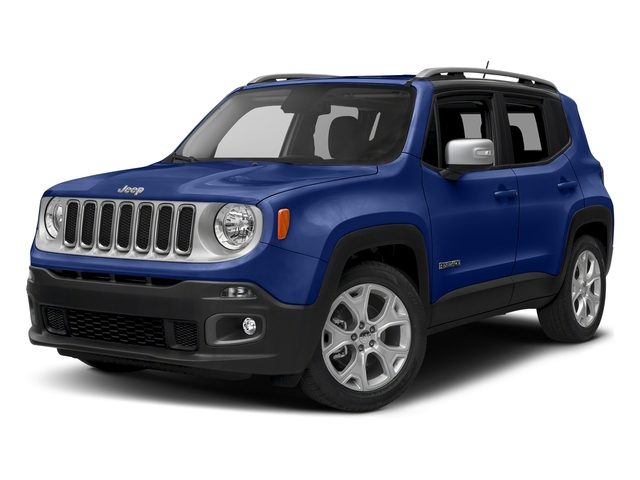 Jetset Blue 2018 Jeep Renegade Pictures Renegade Limited FWD photos front view