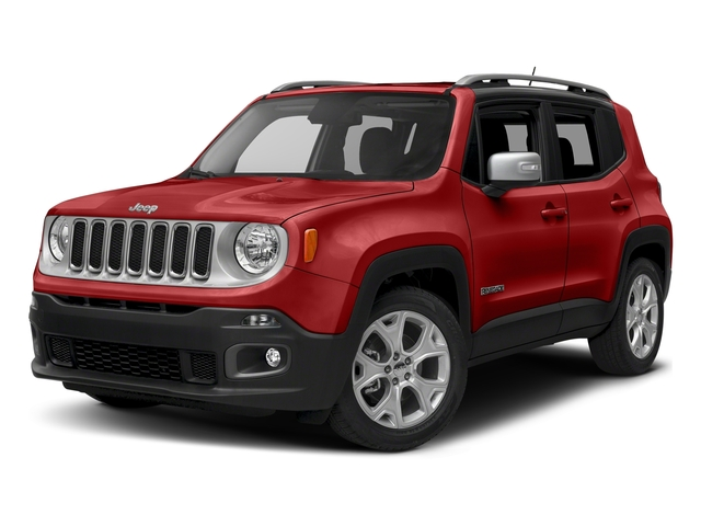 Colorado Red 2018 Jeep Renegade Pictures Renegade Limited FWD photos front view