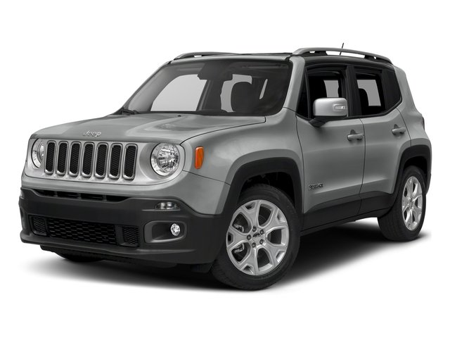 Glacier Metallic 2018 Jeep Renegade Pictures Renegade Limited FWD photos front view