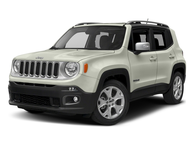 Alpine White 2018 Jeep Renegade Pictures Renegade Limited FWD photos front view