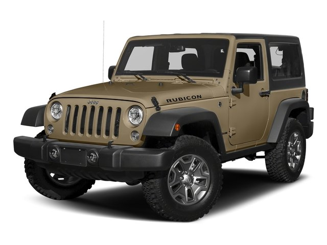 Gobi Clearcoat 2018 Jeep Wrangler JK Pictures Wrangler JK Utility 2D Rubicon Recon 4WD V6 photos front view