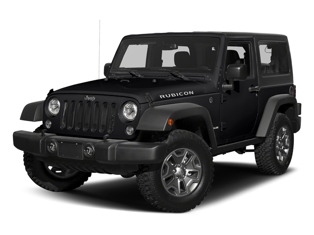 Black Clearcoat 2018 Jeep Wrangler JK Pictures Wrangler JK Utility 2D Rubicon Recon 4WD V6 photos front view