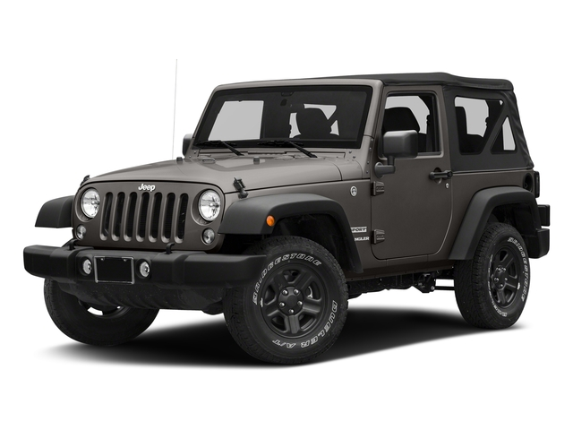 Granite Crystal Metallic Clearcoat 2018 Jeep Wrangler JK Pictures Wrangler JK Utility 2D Sport 4WD photos front view