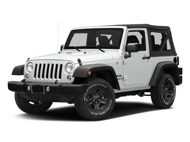 Bright White Clearcoat 2018 Jeep Wrangler JK Pictures Wrangler JK Utility 2D Sport 4WD photos front view