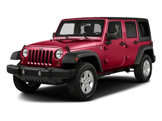 Firecracker Red Clearcoat 2018 Jeep Wrangler JK Unlimited Pictures Wrangler JK Unlimited Sport RHD 4x4 photos front view