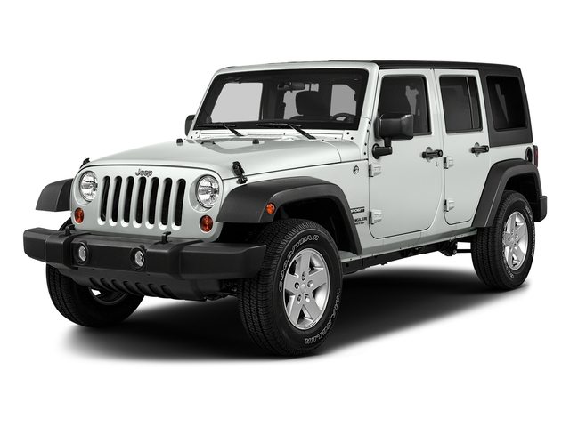 Bright White Clearcoat 2018 Jeep Wrangler JK Unlimited Pictures Wrangler JK Unlimited Sport RHD 4x4 photos front view
