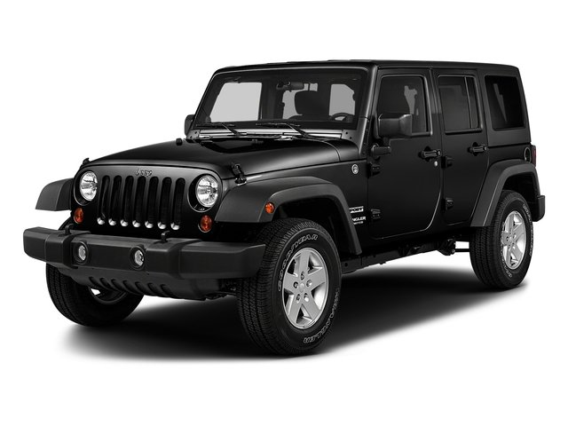 Black Clearcoat 2018 Jeep Wrangler JK Unlimited Pictures Wrangler JK Unlimited Sport RHD 4x4 photos front view