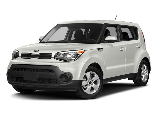 Clear White 2018 Kia Soul Pictures Soul Base Auto photos front view