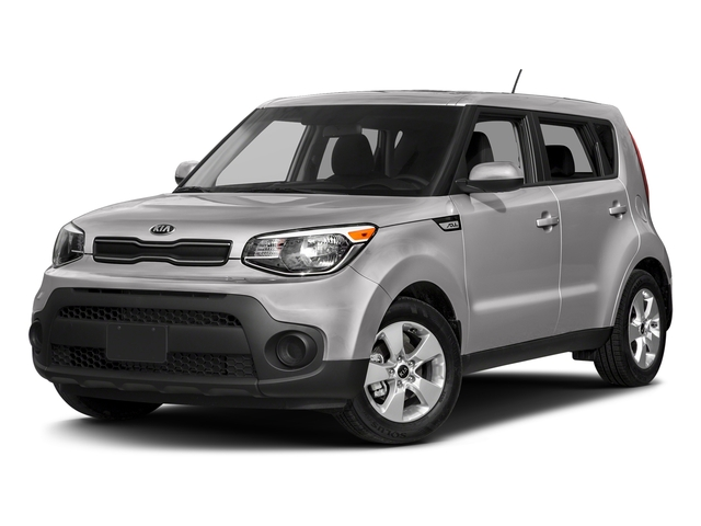 Bright Silver 2018 Kia Soul Pictures Soul Base Auto photos front view
