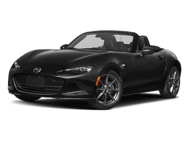 Jet Black Mica 2018 Mazda MX-5 Miata Pictures MX-5 Miata Grand Touring Manual photos front view