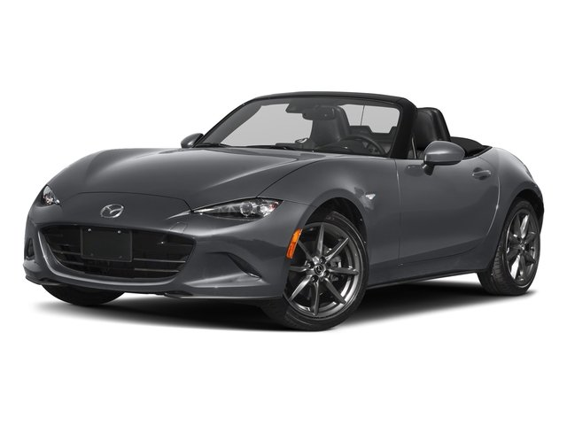 Machine Gray 2018 Mazda MX-5 Miata Pictures MX-5 Miata Grand Touring Manual photos front view