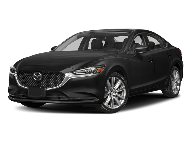 Jet Black Mica 2018 Mazda Mazda6 Pictures Mazda6 Grand Touring Auto photos front view