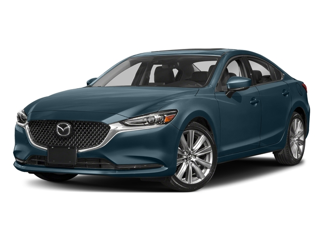 Deep Crystal Blue 2018 Mazda Mazda6 Pictures Mazda6 Signature Auto photos front view