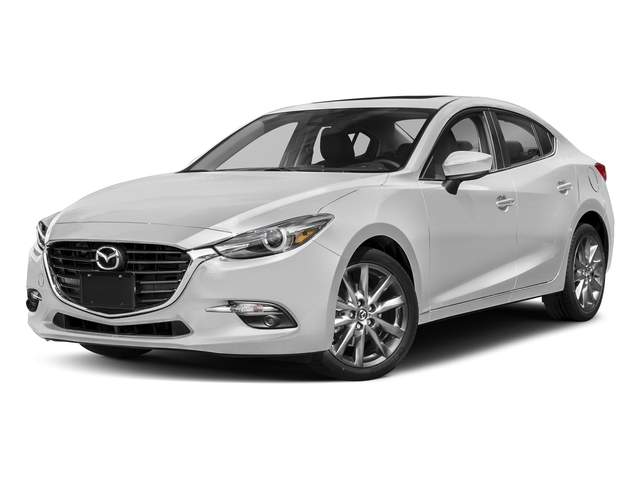 Snowflake White Pearl Mica 2018 Mazda Mazda3 4-Door Pictures Mazda3 4-Door Grand Touring Manual photos front view