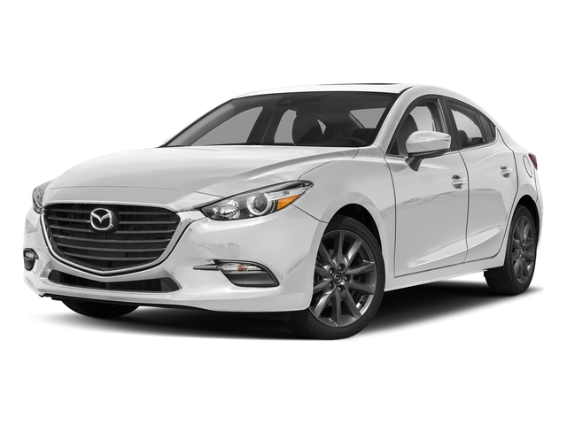 Snowflake White Pearl Mica 2018 Mazda Mazda3 4-Door Pictures Mazda3 4-Door Touring Manual photos front view