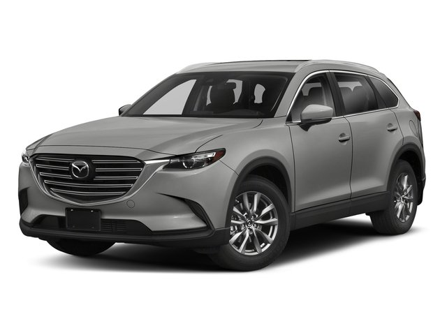 Sonic Silver Metallic 2018 Mazda CX-9 Pictures CX-9 Sport FWD photos front view