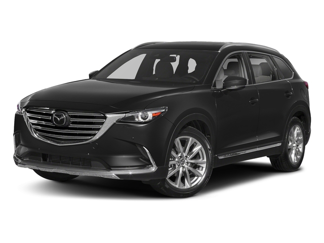 Jet Black Mica 2018 Mazda CX-9 Pictures CX-9 Utility 4D GT 2WD I4 photos front view