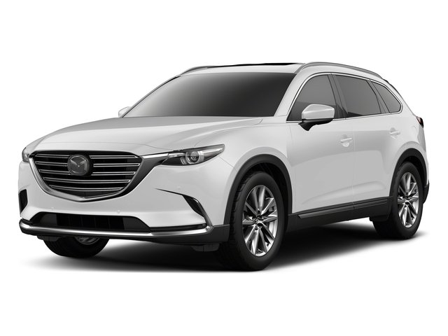 Snowflake White Pearl Mica 2018 Mazda CX-9 Pictures CX-9 Signature AWD photos front view