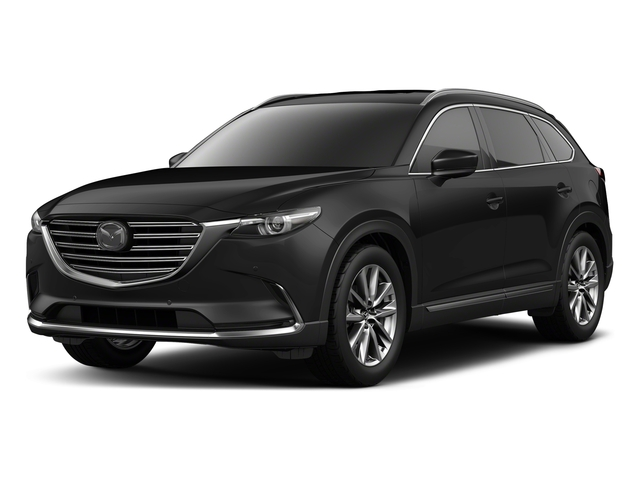 Jet Black Mica 2018 Mazda CX-9 Pictures CX-9 Signature AWD photos front view
