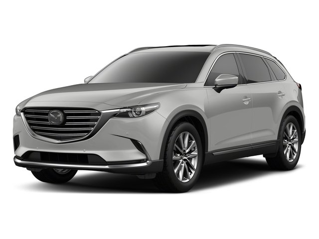 Sonic Silver Metallic 2018 Mazda CX-9 Pictures CX-9 Utility 4D Signature AWD I4 photos front view
