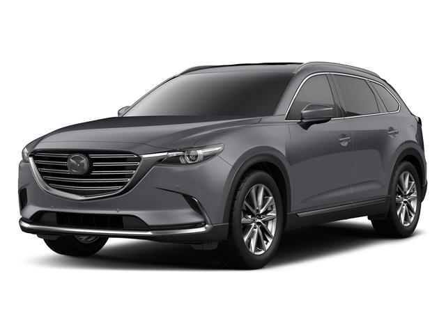 Machine Gray Metallic 2018 Mazda CX-9 Pictures CX-9 Signature AWD photos front view
