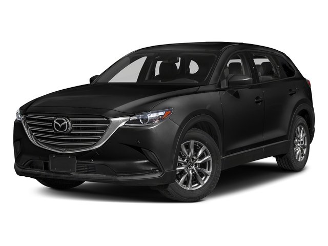 Jet Black Mica 2018 Mazda CX-9 Pictures CX-9 Touring AWD photos front view