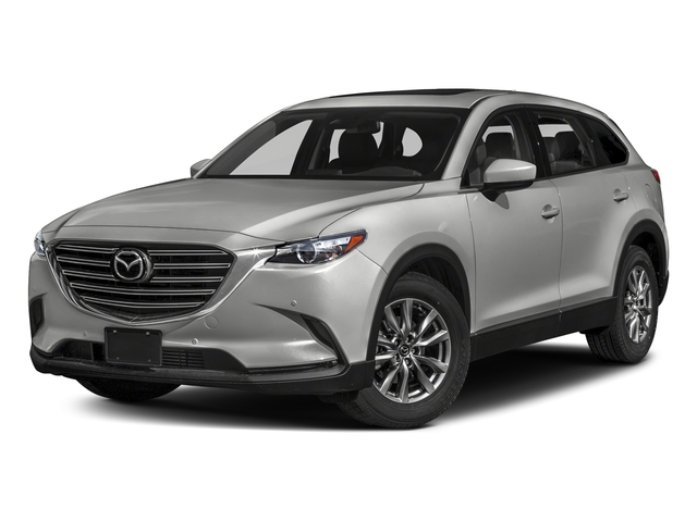 Sonic Silver Metallic 2018 Mazda CX-9 Pictures CX-9 Touring AWD photos front view